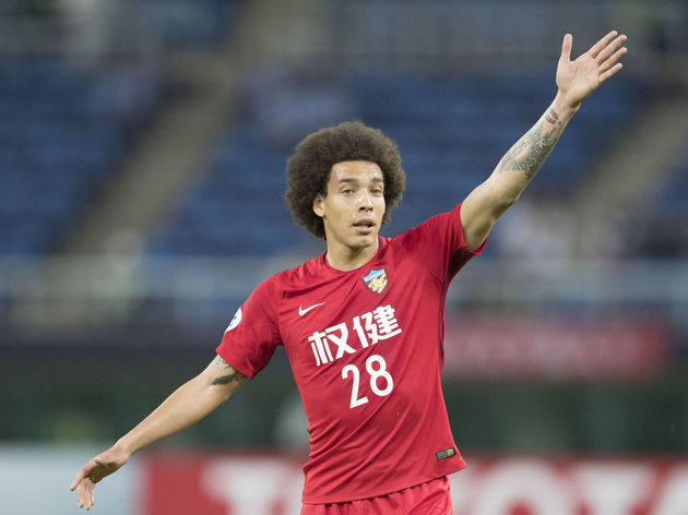 Axel Witsel Leaves China For Germany