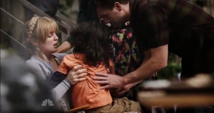 Melissa George y Thomas Sadoski son Rosie y Gary en The Slap