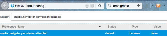 Allow insecure camera / microphone access in Chrome and Firefox