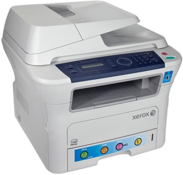 Скачать драйвера для принтера workcentre 3210
