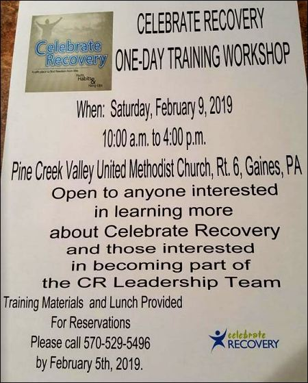 2-9 Celebrate Recovery Workshop