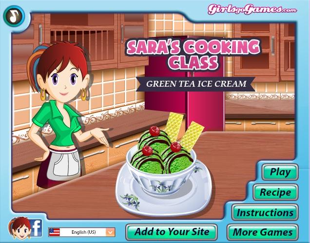 Permainan Memasak Kue Coklat Es Krim Teh Hijau Alami PERMAINAN