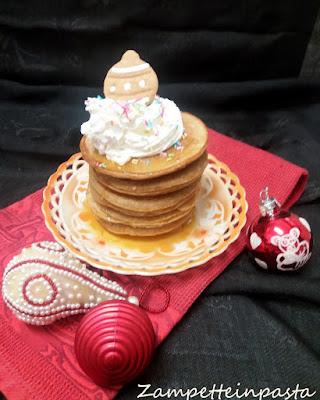 Pancakes gingerbread - Ricetta di Natale