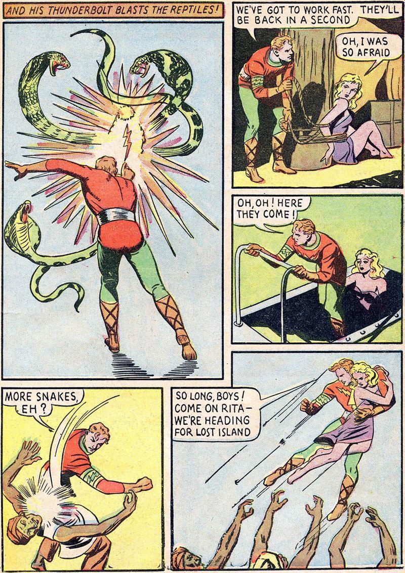 The Voice Of ODD!: Sure-Fire Comics