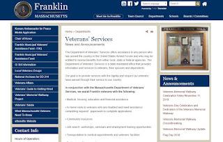 contact Franklin's Veterans Service Agent, Dale Kurtz