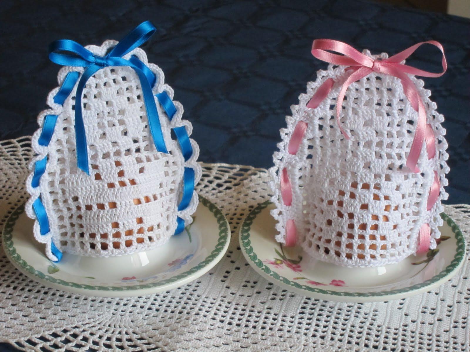 Hobby Lavori Femminili Ricamo Uncinetto Maglia Uova Di Pasqua