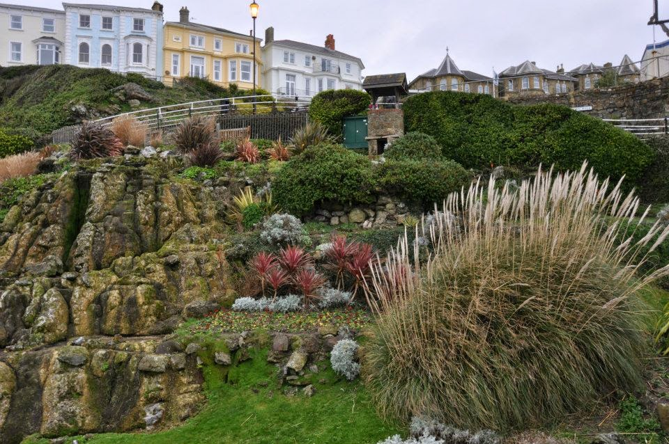 The sea park in Ventnor