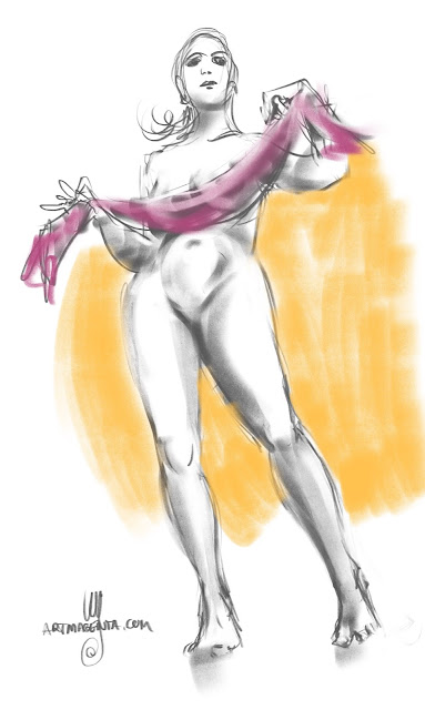 Lifedrawing by Artmagenta