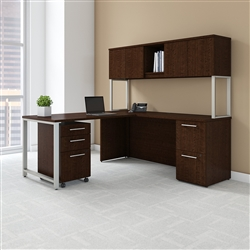 bush 400 series L shaped desk