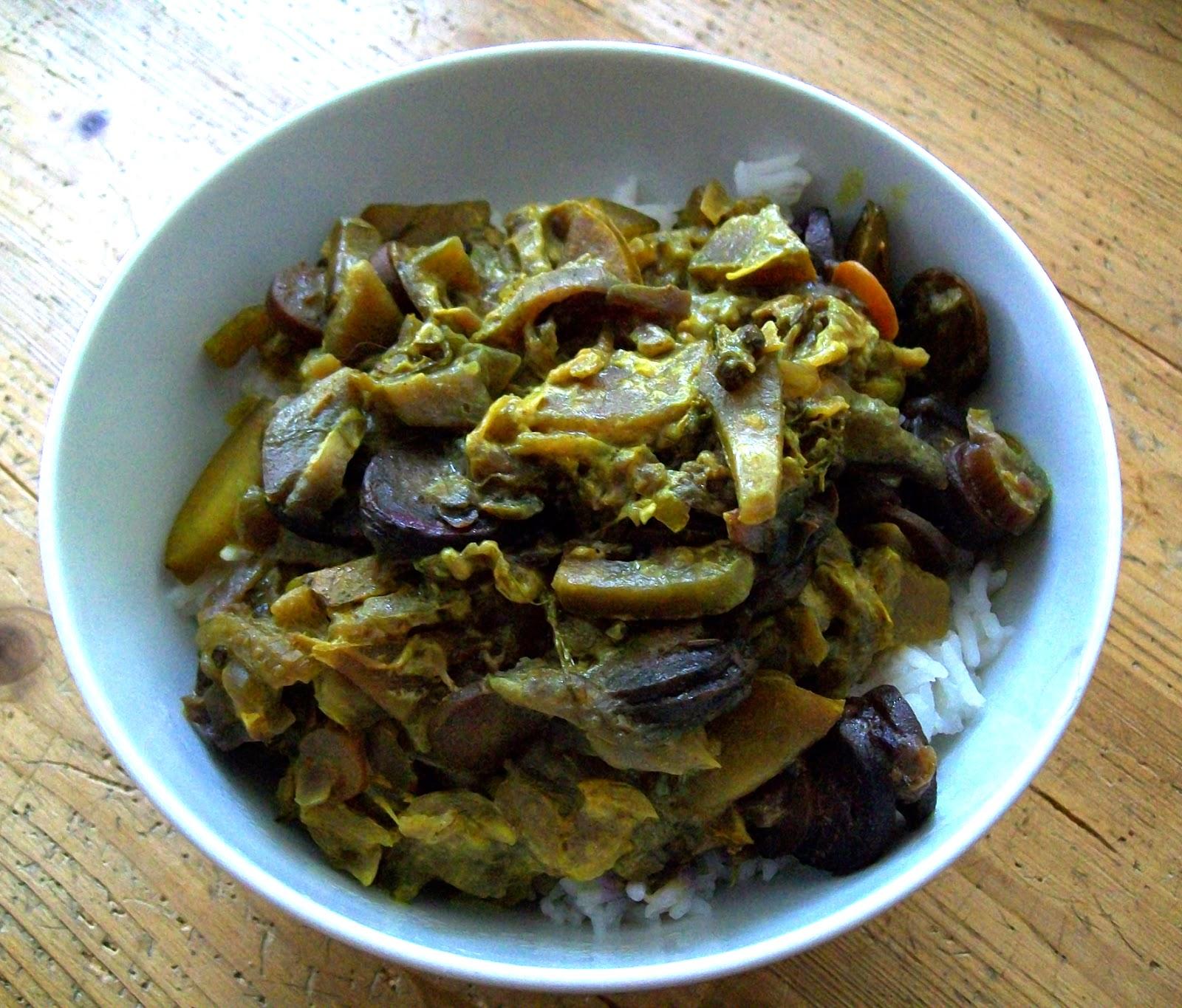 rezept vegan fenchel-curry mit zitronenreis hauptspeise