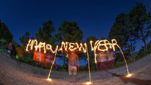 Happy New Year em San Diego