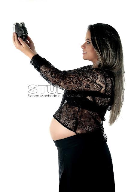 ideias criativas para fotos de gravida