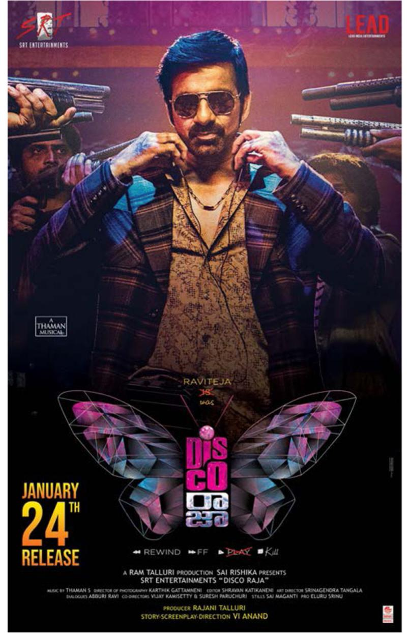 Disco Raja 2020 full hd Telugu 1.4GB HDRip 720p ESubs