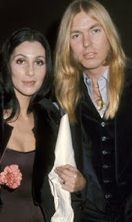 Cher and Gregg Allman during happier times