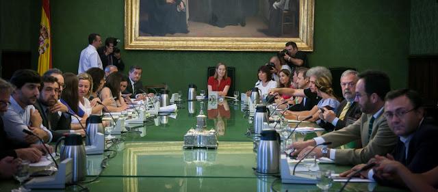 Junta de Portavoces y trabajo parlamentario