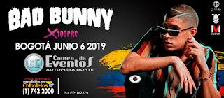 Concierto de BAD BUNNY en Bogotá, Colombia 2019