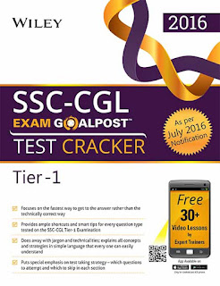 Wiley's SSC-CGL Exam Goalpost Test Cracker (Tier-1)
