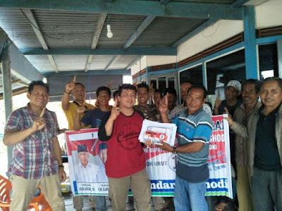 Tim Pemenangan ISO Kunjungi Wilayah Pesisir OKI