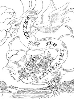 Dia de las madres dibujo para colorear | Dibujos del dia de las madres
