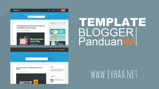 PanduanIM Responsive Blogger Template Free