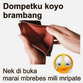 gambar DP BBM Dana Uang di dompet