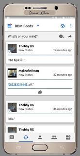 BBM MOD Like Ios V3.0.1.25 Apk