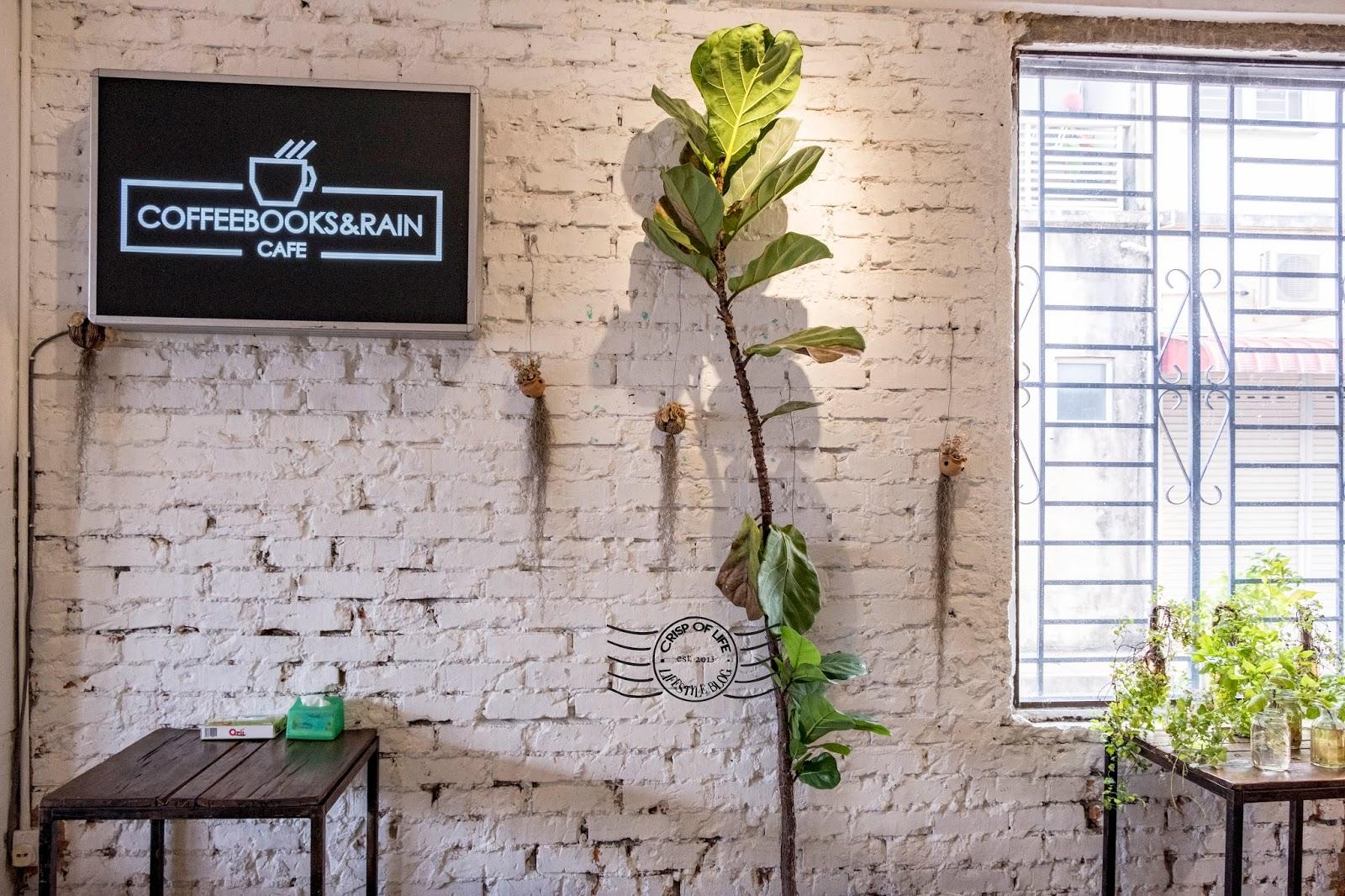 Coffee Books & Rain Cafe Alor Setar Kedah