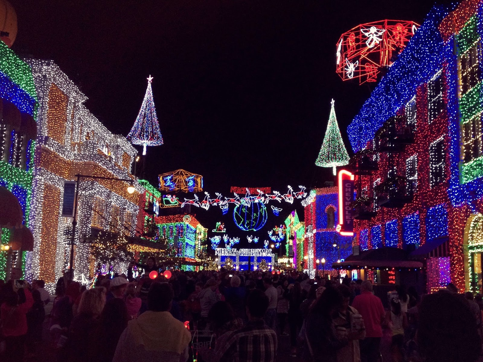 Osbourne Family Spectacle of Dancing Lights.