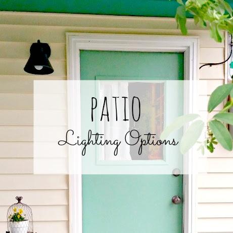 Patio Lighting - Weekend Yard Work Series