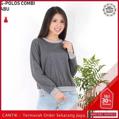 MNF082J159 Jaket Bl Wanita Polos Combi Atasan Sweater 2019 BMGShop
