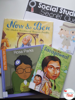 FREE Teaching Biographies in a primary classroom (with 2 fun freebies)- lesson and activities ideas for biographies)