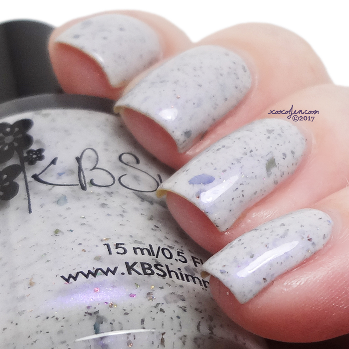 xoxoJen's swatch of KBShimmer High-rise To The Occasion
