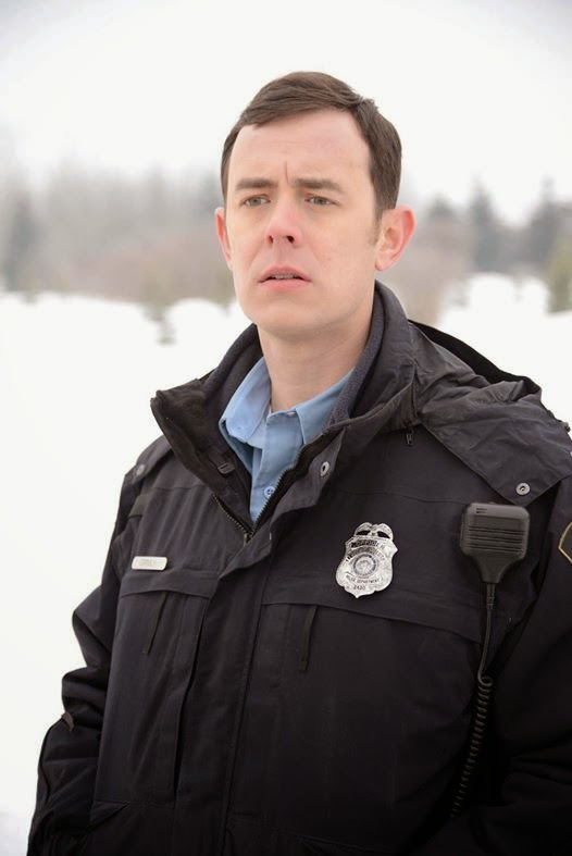 Colin Hanks as Deputy Gus Grimly in Fargo Season 1 Episode 5 The Six Ungraspables