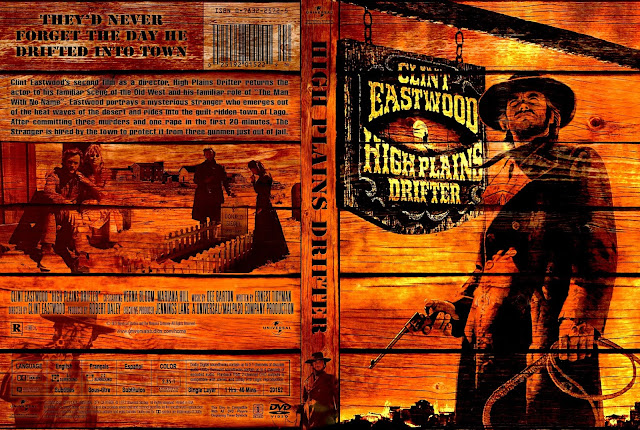High Plains Drifter DVD Cover