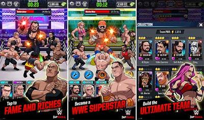 تحميل لعبه WWE Tap Mania مهكره