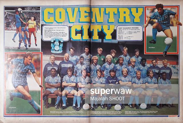 TEAM COVENTRY CITY 1984