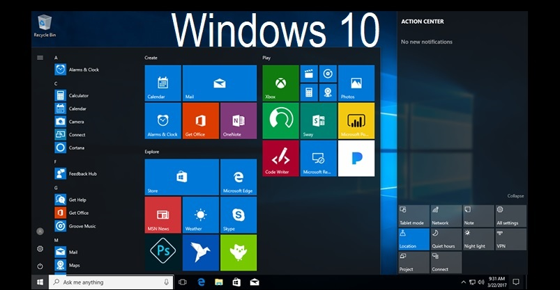 Windows 10 RTM ISO DVD Official Download Links