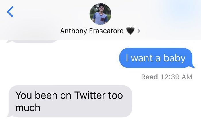 The New Challenge Of Texting Your Boyfriend 'I Want A Baby' Has Become Viral, And The Responses Are Hilarious
