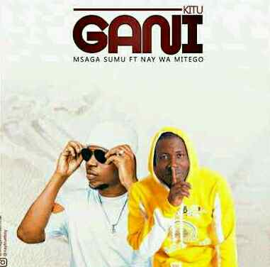 Download Audio | Msaga Sumu ft Nay Wa Mitego - Kitu Gani