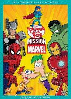 Phineas y Ferb: Mision Marvel (2013)