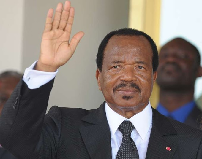 Cameroon's Biya is sworn in after disputed poll