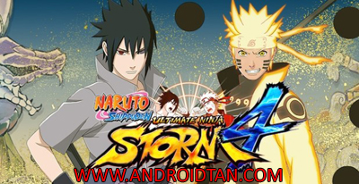 Download Naruto Shippuden Ultimate Ninja Storm 4 v2.0 Apk Android Terbaru 2017