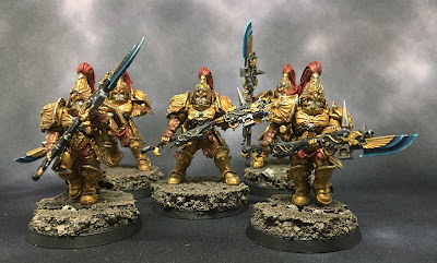 Custodian Guard with Halberds