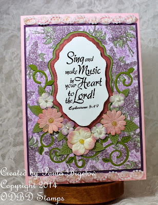 Our Daily Bread Designs, Sing to the Lord, Vintage Flourish Pattern, Fancy Foliage