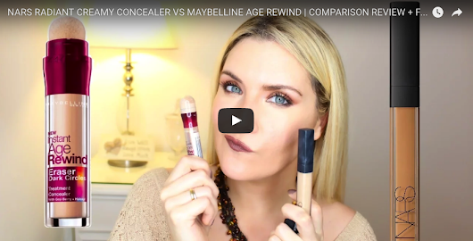 NARS RADIANT CREAMY CONCEALER VS MAYBELLINE AGE REWIND | COMPARISON REVIEW + FIRST IMPRESSIONS