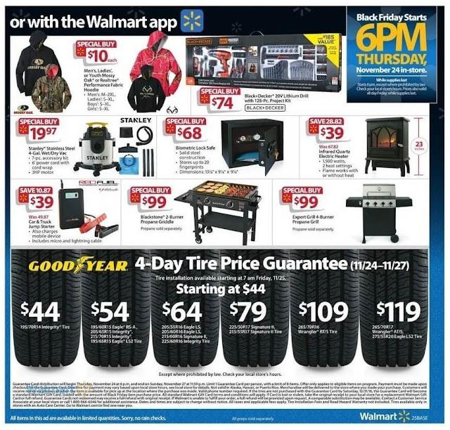Biometric Lock Safe, Car & Truck Jump Starter, Infrared Quartz Electric Heater Walmart Black Friday Deals