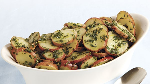 Warm Potato Salad with Fresh Herbs