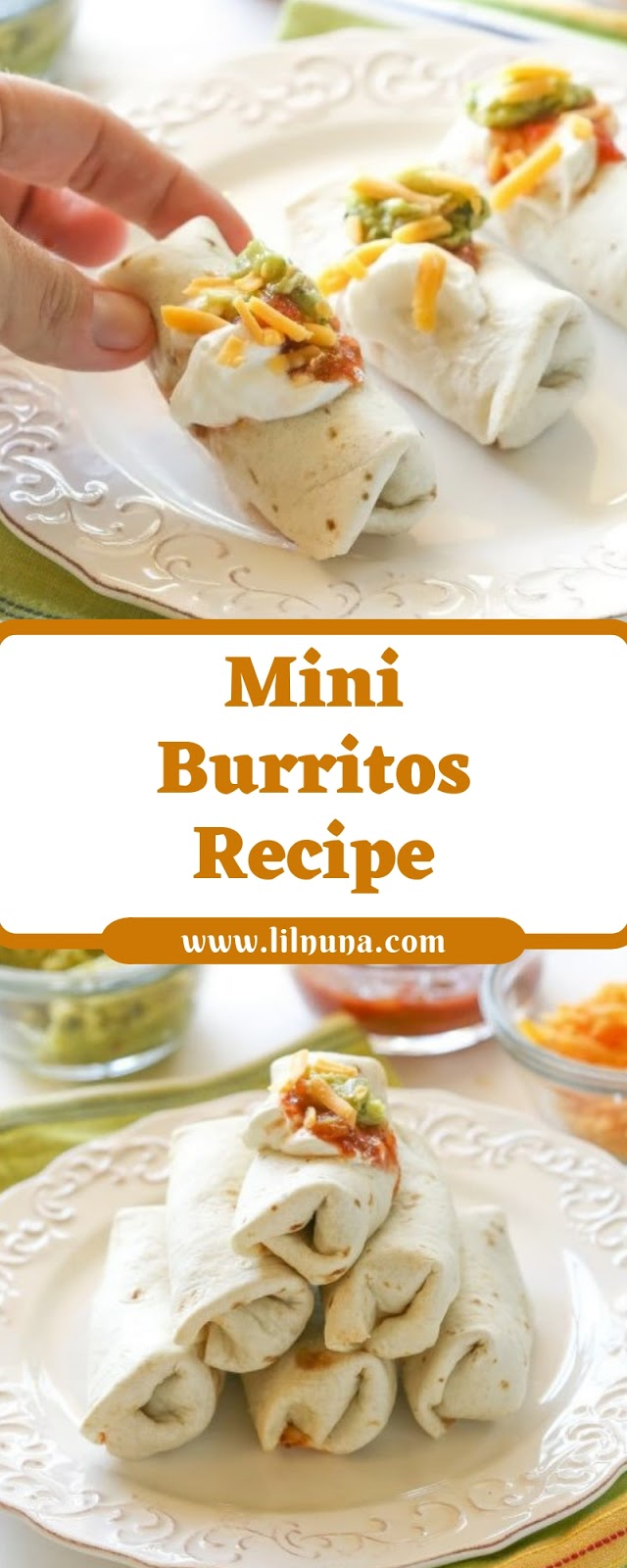 Mini Burritos Recipe