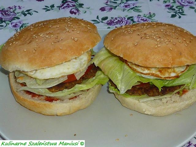 Hamburgery w wersji bez mięsa