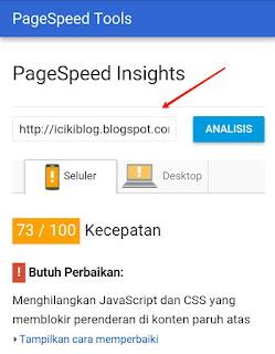 Cara Ngecek Kecepatan Loading Blog Saat di Akses